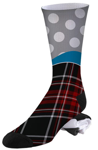 Polkaplaid Pro Series Socks