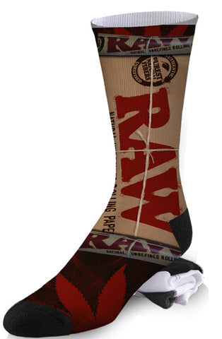 Raw Rolling Papers Weed Socks