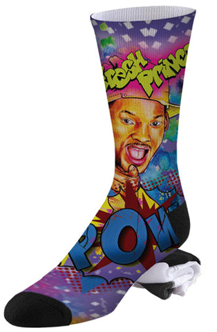 90's Throw Back Fresh Prince of Bel Air Socks
