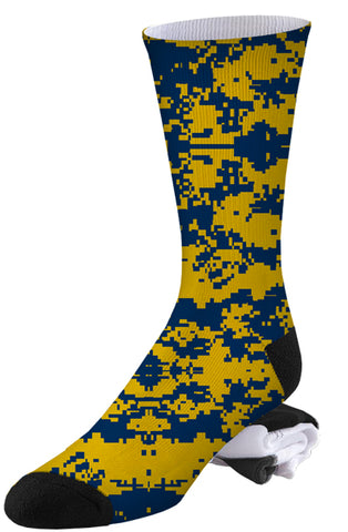 Marvel Wolverine Themed Digital Camo Socks