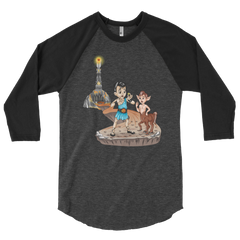 Hercules Finds a Ring Raglan