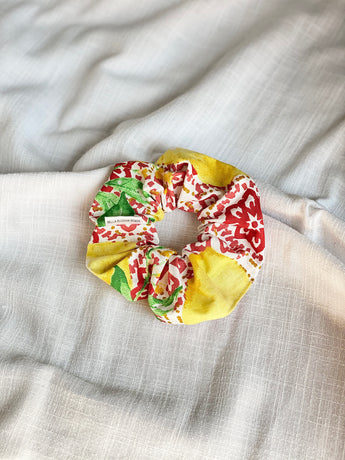 Sicilian Lemon Scrunchie