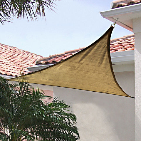 ShelterLogic 16ft. x 16ft. Triangle Shade Sail - Shade - Shop Patios