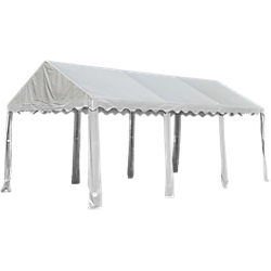 ShelterLogic Party Tent with 8-Leg Steel Frame 10 ft. x 20 ft.  sc 1 st  Shop Patios & ShelterLogic Party Tent with 8-Leg Steel Frame 10 ft. x 20 ft ...