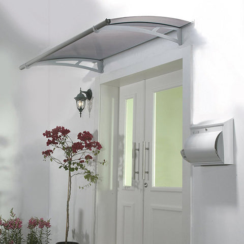Aquila Awning - Clear/Solar Gray - Awning - Shop Patios