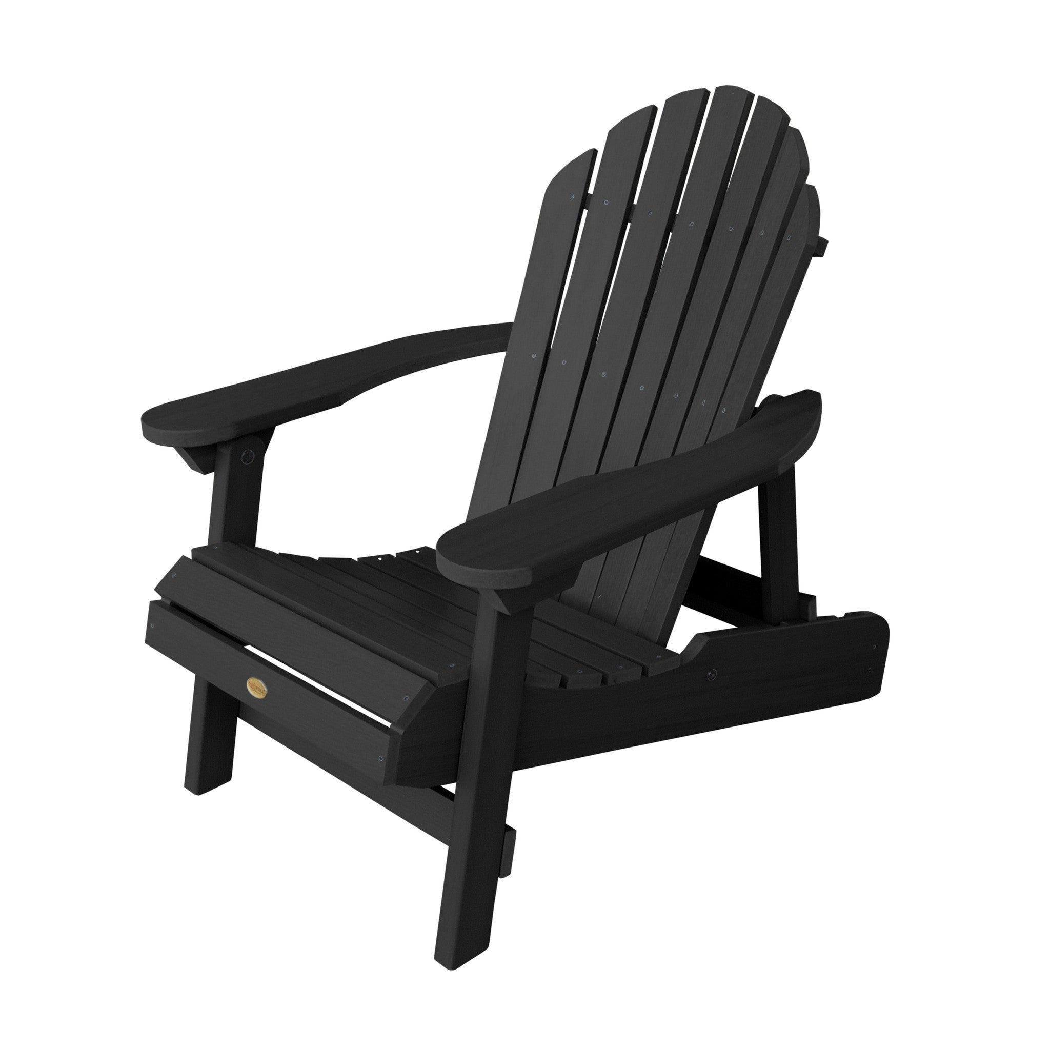Highwood USA Eco Friendly Hamilton Folding U0026 Reclining Adirondack Chair    Adirondack   Shop Patios ...