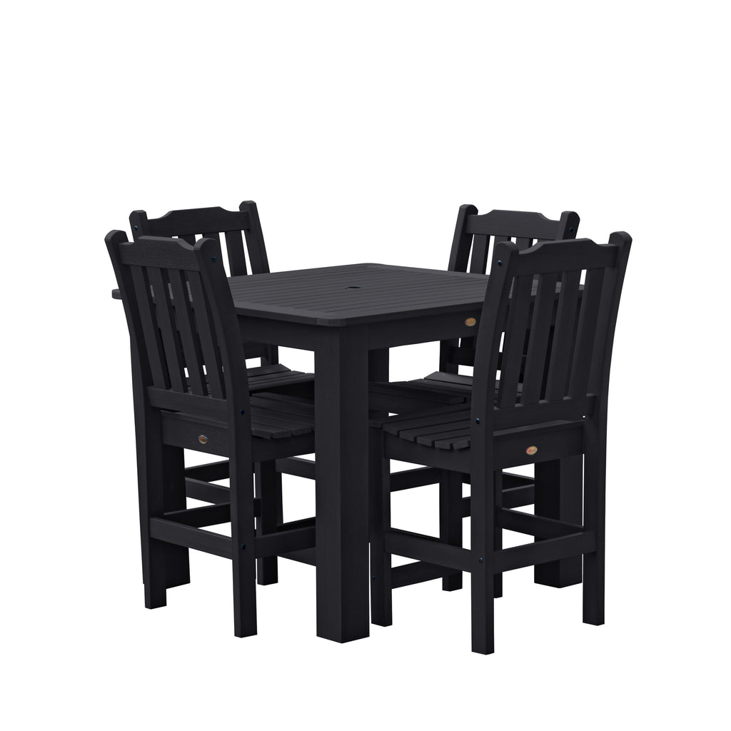 Highwood USA Eco-friendly Lehigh 5-piece Square Counter Dining Set