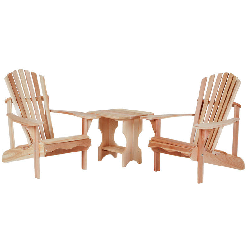 All Things Cedar 3 Piece Adirondack Seating Group - Outdoor Seating - Shop Patios