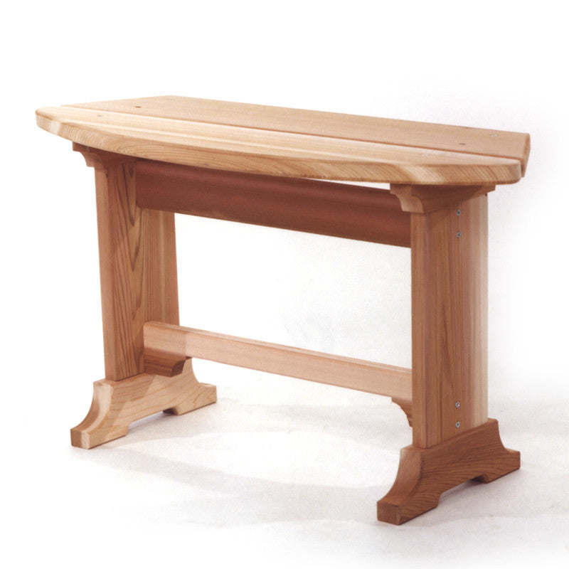 All Things Cedar Wood Picnic Bench - outdoor bench - Shop Patios