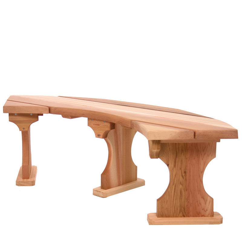All Things Cedar Wood Tree Bench - OUTDOOR BENCH - Shop Patios