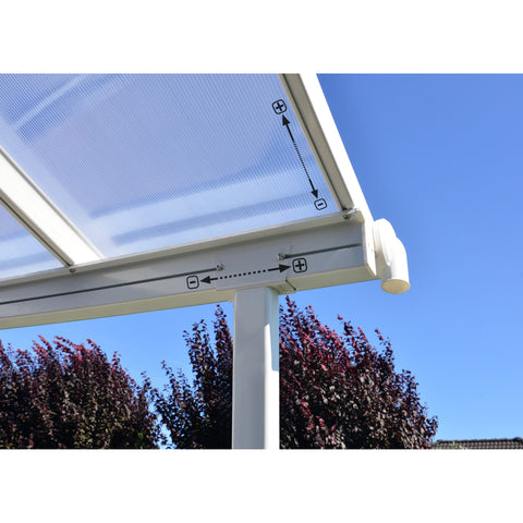 Palram Sierra Patio and Door Cover Awning - Awning - Shop Patios