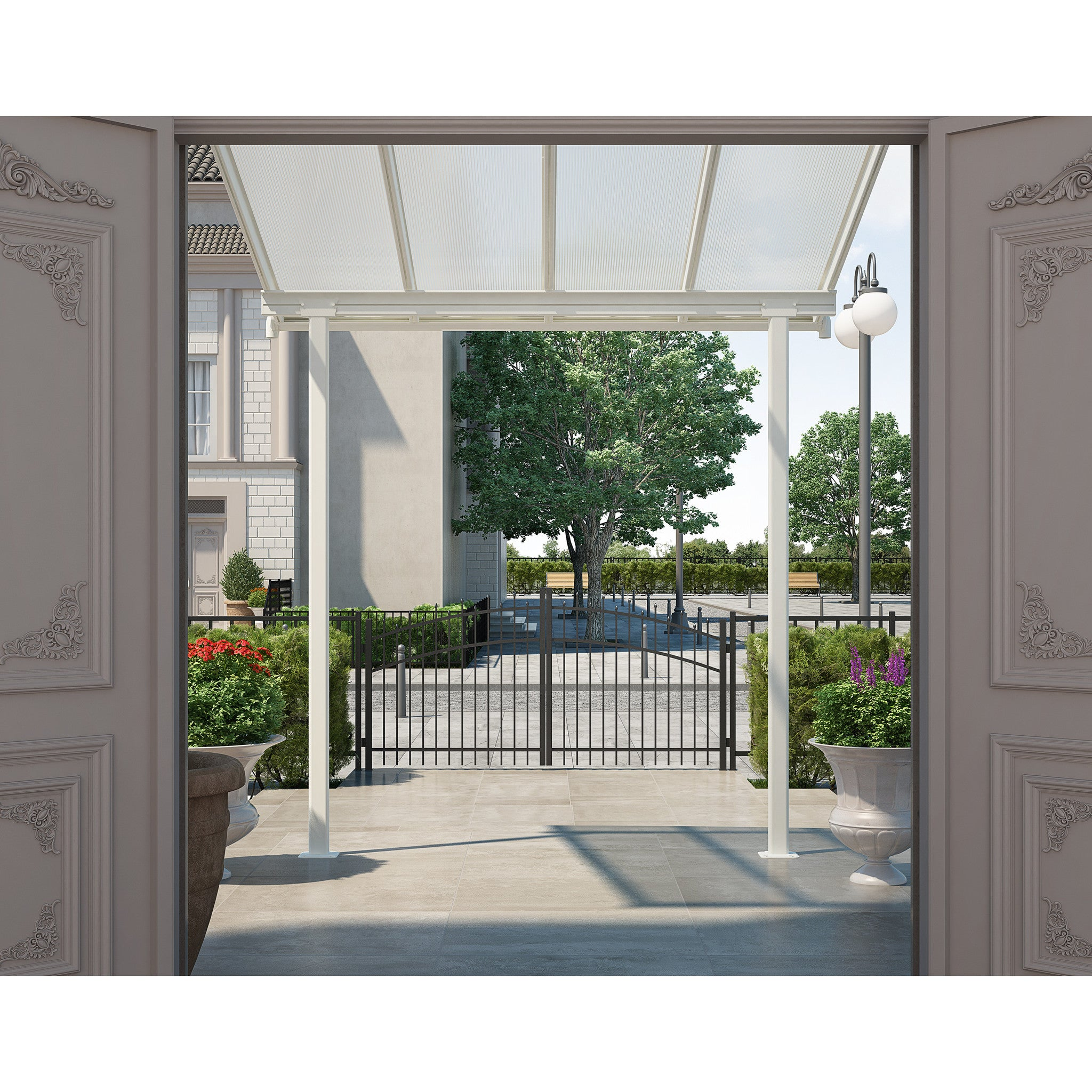 Nice ... Palram Sierra Patio And Door Cover Awning   Awning   Shop Patios ...