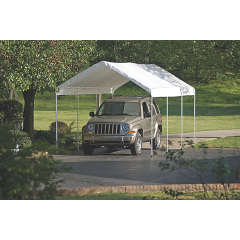 "10×20 White Canopy Replacement Cover, Fits 2"" Frame - Cover - Shop Patios"