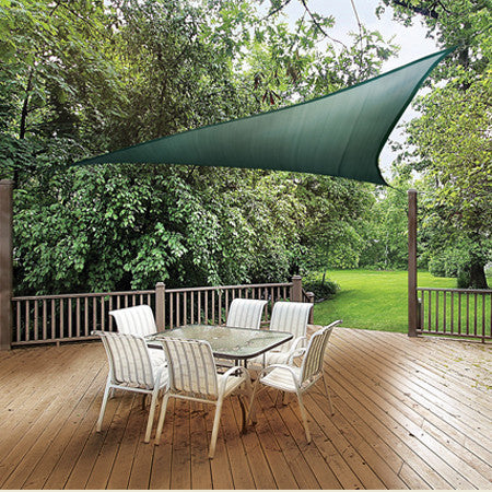 ShelterLogic12ft. x 12ft. Triangle Shade Sail - Shade - Shop Patios