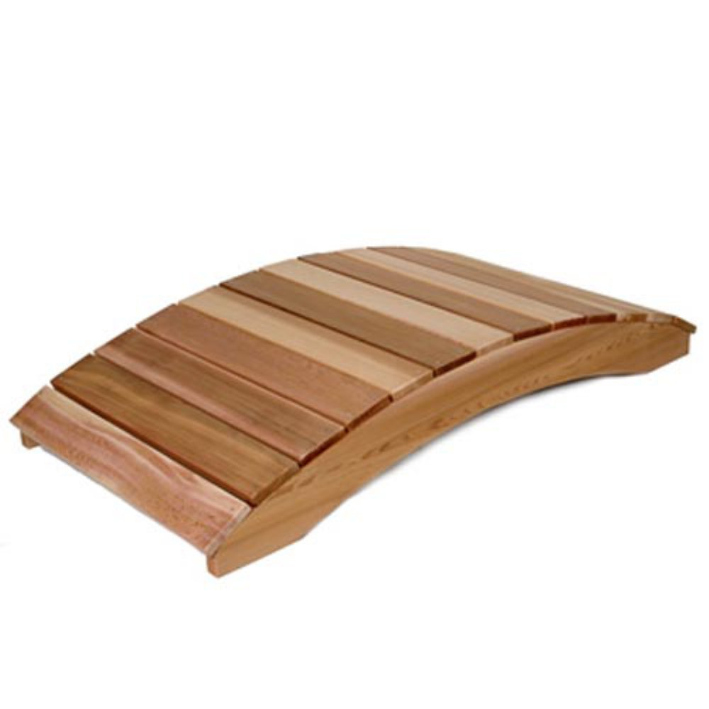 3 Ft. Cedar Plank Bridge - Garden Bridge - Shop Patios