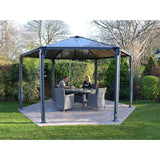 Palram Monaco Hexagon Aluminum Gazebo - Gazebos - Shop Patios