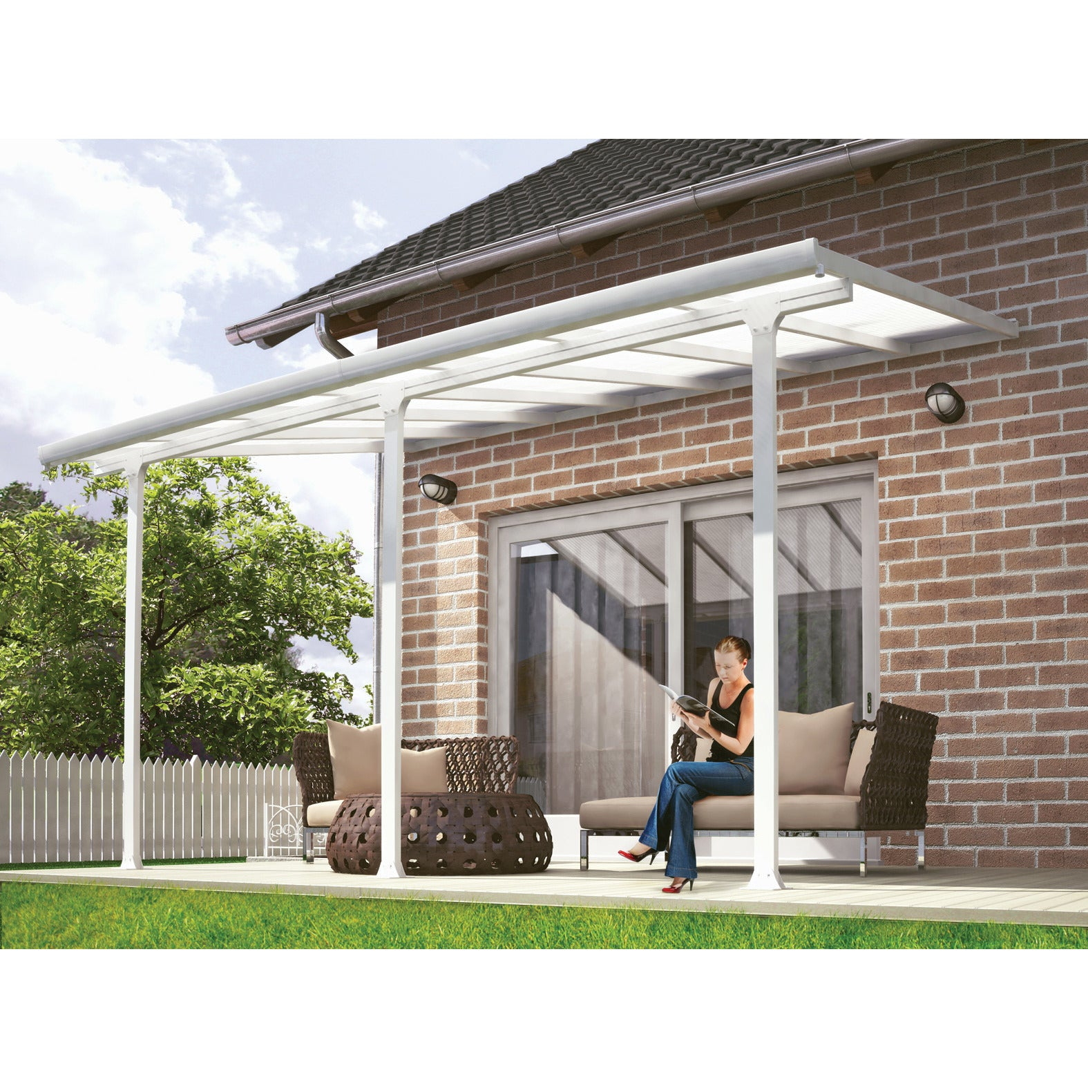 alumawood unlimited handyman patio showcase ceiling install covers samples cover fan and