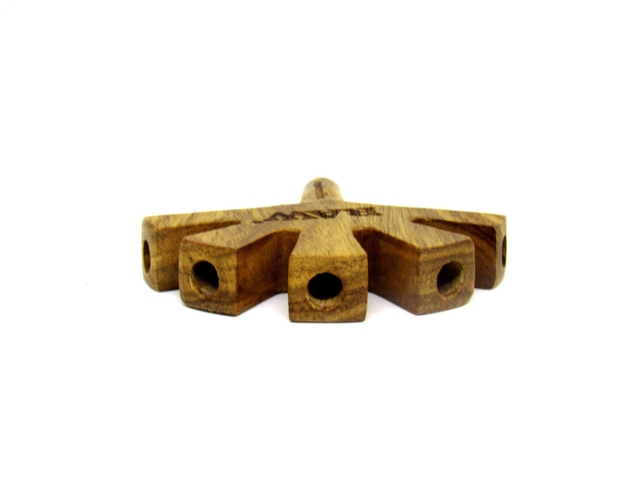 Raw 5 Level Wooden Cigarette Holder