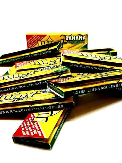 Juicy Banana Flavored Rolling Papers 1 1/4