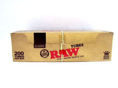 RAW King Size Empty Cigarette Tubes
