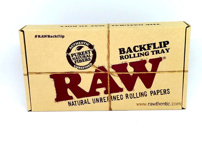 Raw Backflip Bamboo Magnetic Rolling Tray