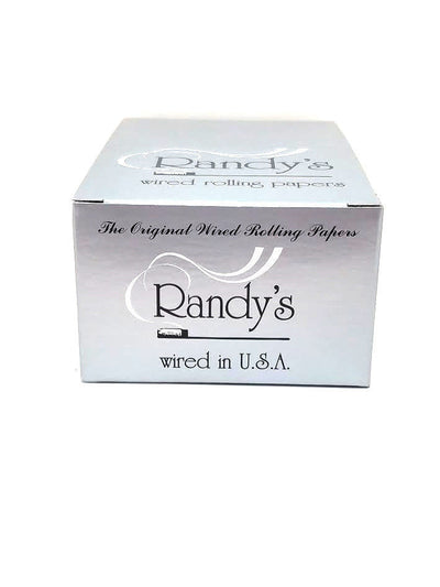 Randy's Classic Wired Silver 1 1/4 Rolling Papers