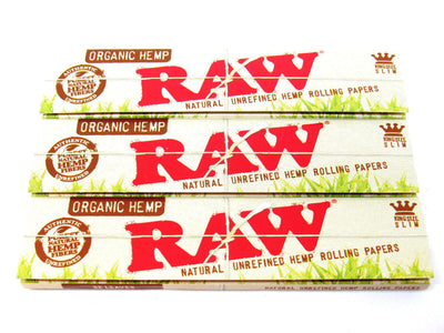 Raw Organic Kingsize Slim Rolling Papers
