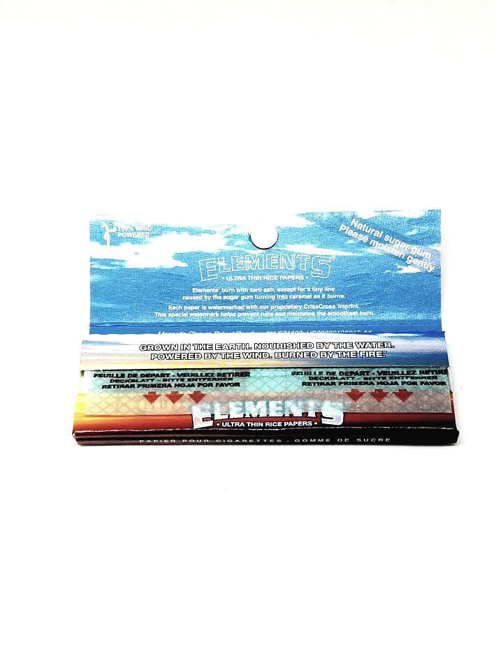 Elements Ultra Thin Rolling Papers 1 1/4