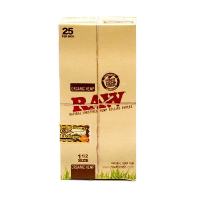 Raw Organic 1 1/2 Rolling Papers