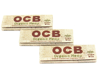 OCB Organic Single Wide Rolling Papers