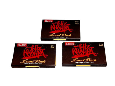 Wiz Khalifa Raw Classic 1 1/4 Loud Pack Rolling Papers