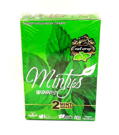 Mintys Organic Natural Mint Wraps