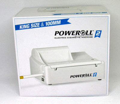 Poweroll 2 Top-o-matic Cigarette Rolling Machine