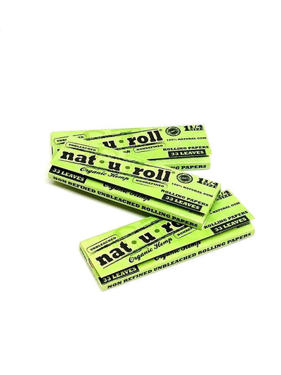 Nat U Roll Organic Rolling Papers 1 1/4