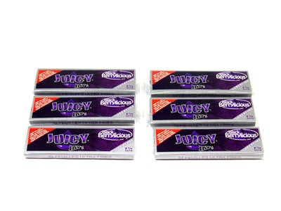 Juicy Black Berrylicious Flavored Rolling Papers 1 1/4