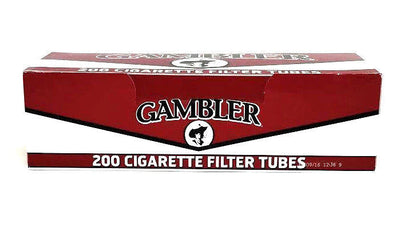 Gambler Regular King Reds Full Flavor Cigarette Filter Tubes