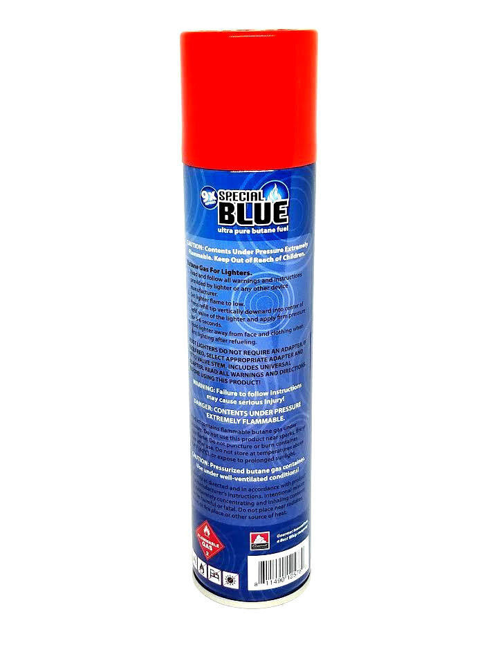 Special Blue 9x Ultra-Pure Butane Fuel 300ml