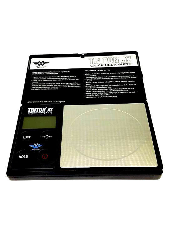 My Weigh Triton XL Digital Scale 1000g x 0.01g Capacity - Wholesale - USA - NEW