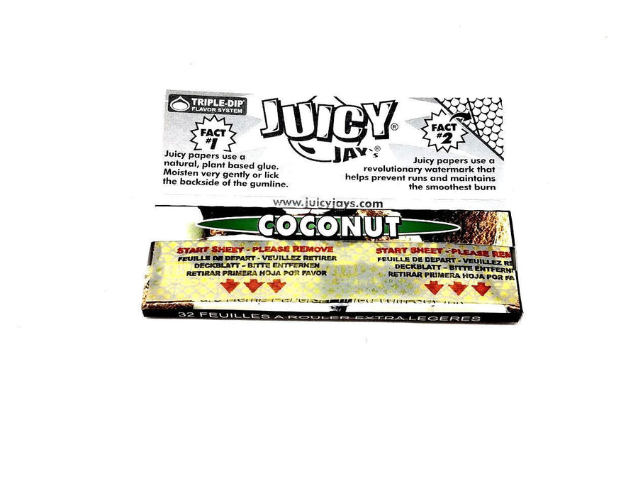Juicy Coconut Flavored Rolling Papers 1 1/4