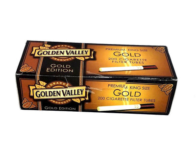 Golden Valley Gold Edition King Size Cigarette Tubes