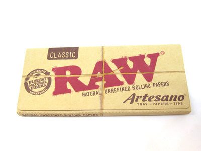 RAW Classic 1 1/4 Artesano Rolling Papers