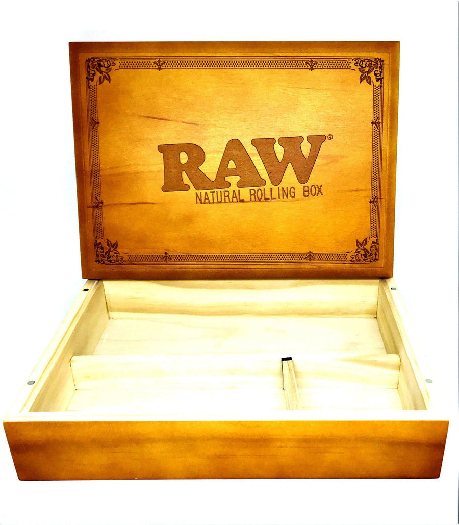Raw Special Wood Rolling Box