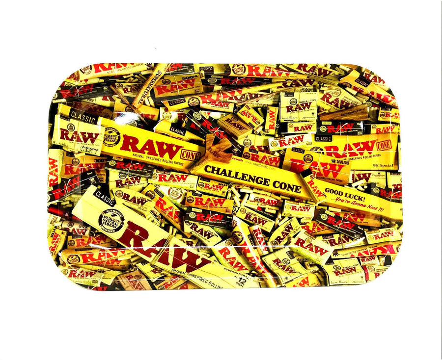 RAW Small Rolling Tray Paper Design