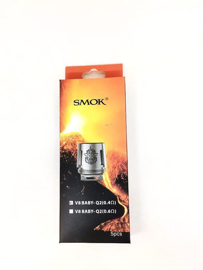 SMOK V8 Baby-Q2 Turbo Engines Replacement Coils - 5 Pack