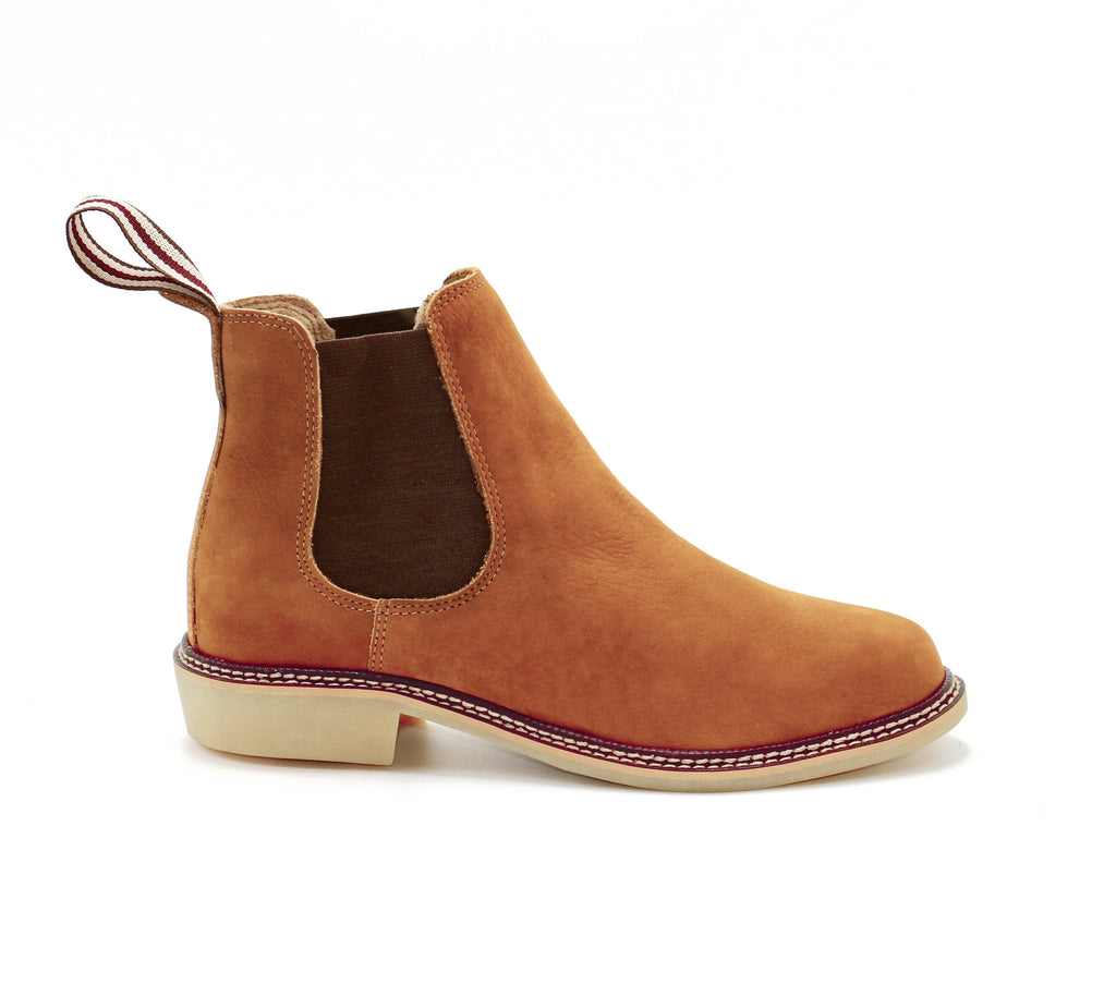 genuine leather chelsea boots women