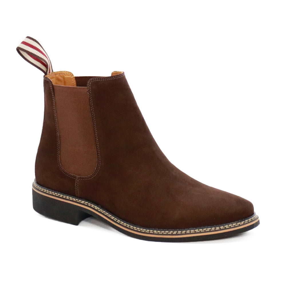 DE WULF Footwear, chelsea boots men, brown chelsea boots men, boots men, comfortable boots men, leather boots men, leather shoes men
