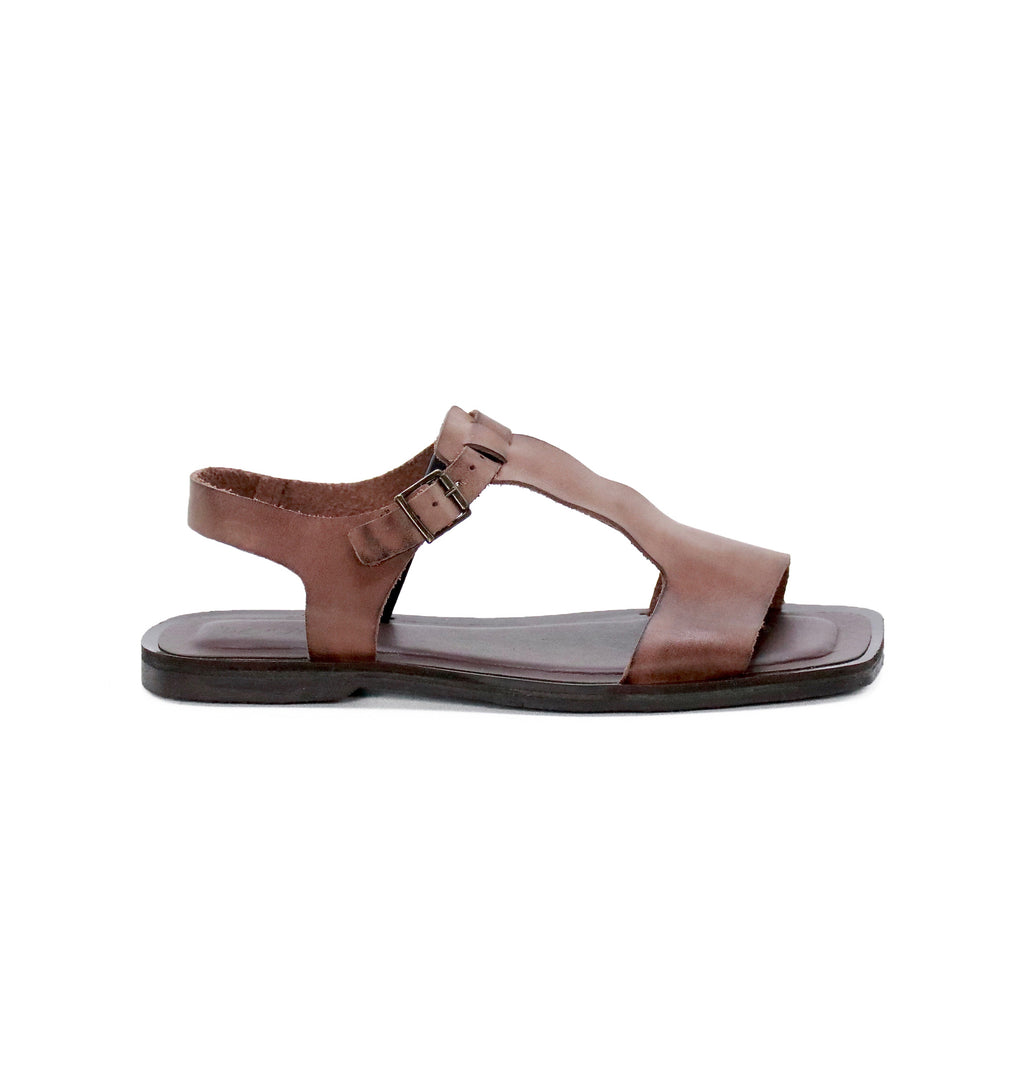 DE WULF Footwear, women sandals, women leather sandals, brown sandals women, brown leather sandals women, gladiator sandals women, comfortable sandals women