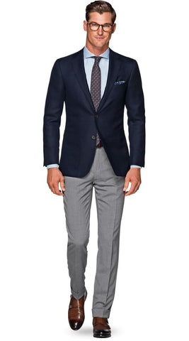 navy blazer men