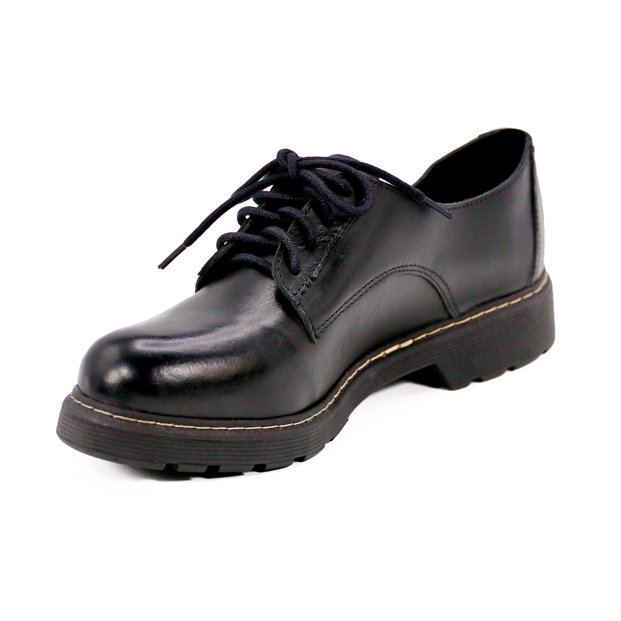 Women's Glossy Black Shoes by Designer
