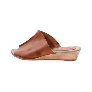 Anina_leather sandals, leather footwear, women sandals, women leather sandals, brown sandals women, wedge sandals women, heel sandals women, quality sandals women, de wulf, de wulf shoes, de wulf footwear